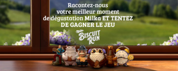 Milka biscuit run
