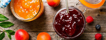 Confiture de fruits avec alsa®