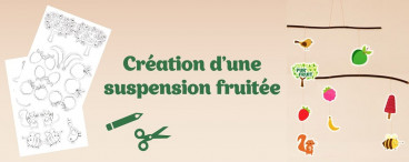 DIY suspension Pur'Fruit