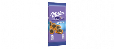 packshot tablette milka mini oreo