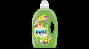 lessive liquide OMO Lilas Blanc et Ylang Ylang