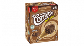 Glace Cornetto Choc'n'Ball Cacao