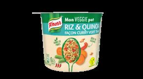 Mon VEGGIE Pot Riz & Quinoa façon Curry Vert Thaï