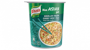 Mon ASIAN Pot façon Curry Vert Thaï