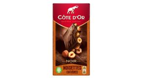 chocolat Côte d'Or Noir Noisettes Entières