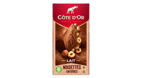 Chocolat Côte d'Or Lait Noisettes Entières