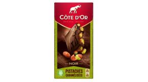 Chocolat Côte d'Or Noir Pistache Caramélisées