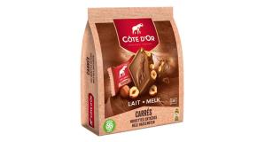 Chocolat côte d'Or Carrés Lait Noisettes Entières