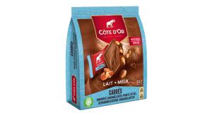 Chocolat Côte d'Or Carrés Lait Amandes sel
