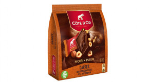 Chocolat Côte d'Or Carrés Noir Noisettes Entières