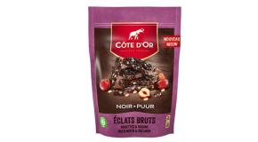 Chocolat Côte d'Or Eclats Bruts Noir