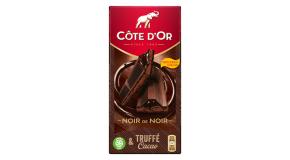 Tablette Côte d'Or Noir Truffé & Chocolat