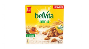 Packs du belVita Minis Miel & Pépites de Chocolat