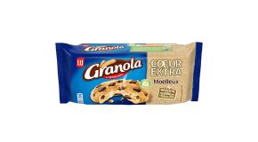 Granola Cookies Cœur Extra Moelleux Chocolat