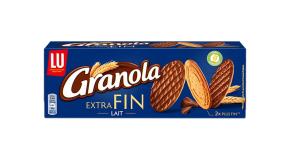 Le pack granola nappé chocolat au lait extra fin