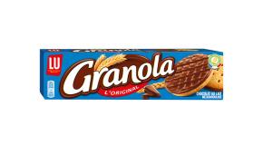 Le pack granola nappé sablé au lait