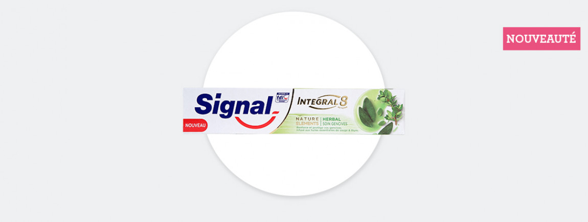 Signal Intégral 8 Nature Eléments Herbal Soin Gencives