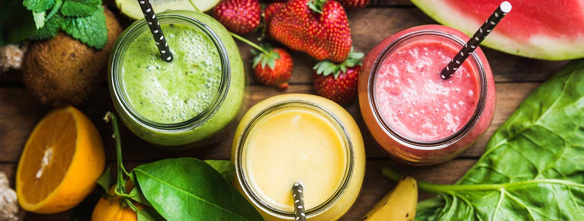 Smoothies avec Carte d'Or®