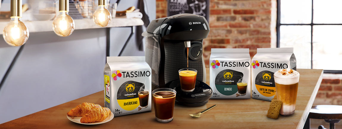 tassimo tasses et machine