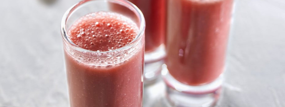 Smoothie framboises myrtilles